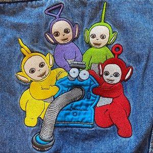 VINTAGE 90's Teletubies 2T Denim Jacket